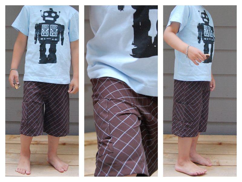 Shorts from Men's Shirt