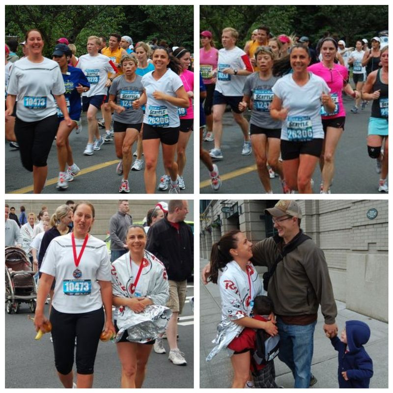 Half marathon collage
