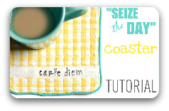 Tutorial button carpe diem coffee